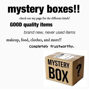 Other - mystery boxes!